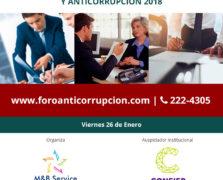 FORO SISTEMAS DE COMPLIANCE Y ANTICORRUPCIÓN 2018